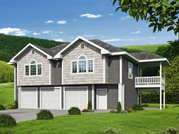 Carriage House Plan, 012G-0131