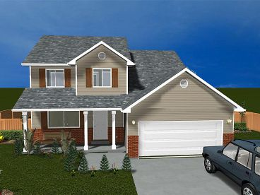 Traditional House Plan, 065H-0004