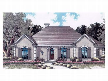Sunbelt House Design, 004H-0061