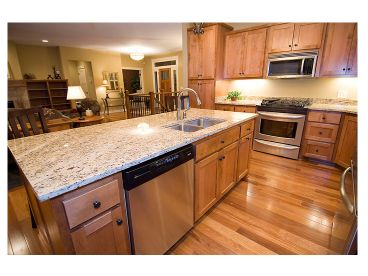 Kitchen Island Photo, 023H-0165