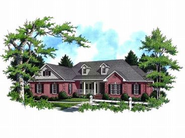 Traditional House Plan, 001H-0117