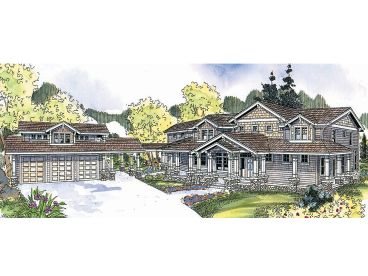 Premier Luxury Home Plan, 051H-0148