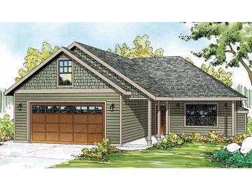 Small Home Plan, 051H-0237