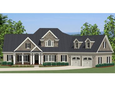 Traditional Home Plan, 067H-0013