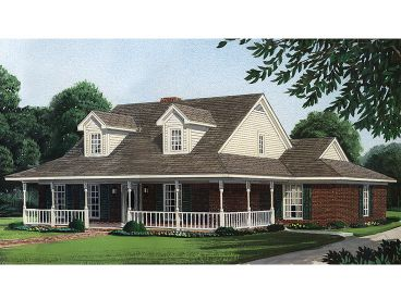 Country House Plan, 054H-0105