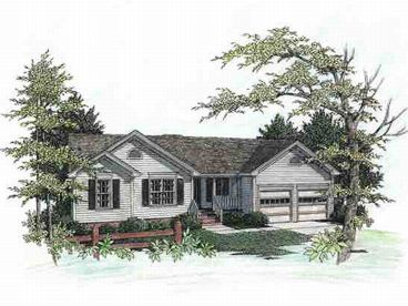 Ranch Home Design, 007H-0006