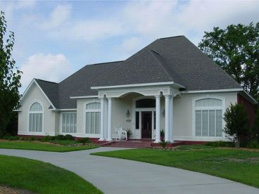 Sunbelt House Plan, 021H-0076