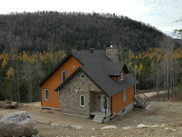 Mountain House Plan, 027H-0078