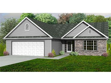 Affordable Home Plan, 048H-0069