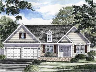 Traditional House Plan, 014H-0007