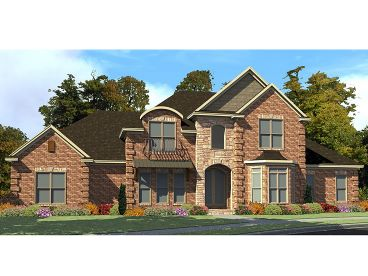 European House Plan, 073H-0035