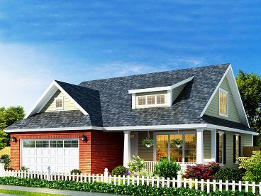 Small House Plan, 059H-0136