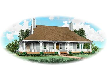Country Home Design, 006H-0053