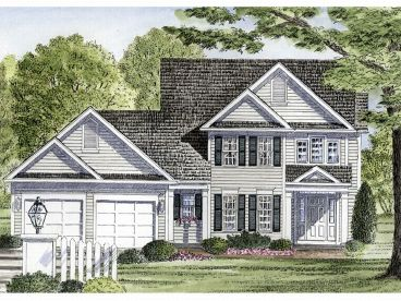 Two-Story House Plan, 014H-0038