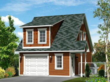 Carriage house plans the house plan shop for Apartment garage storage