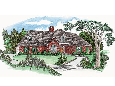 Traditional House Plan, 060H-0019