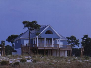 Coastal House Plan, 017H-0034