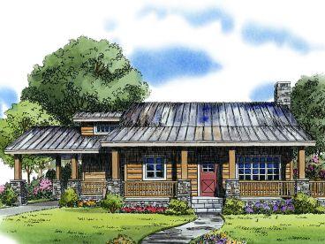 Vacation Home Plan, 066H-0008
