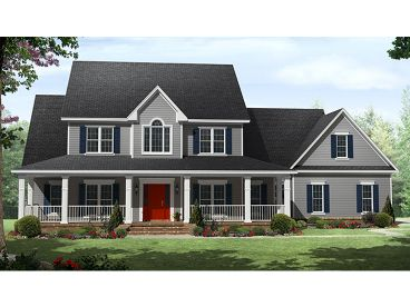 Country House Plan, 001H-0204