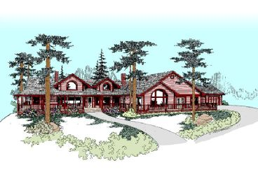 Country Home Plan, 013H-0059