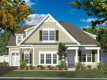 Two-Story Home Design, 014H-0085