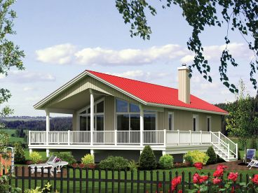 Vacation House Plan, 072H-0202