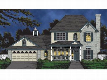 2-Story House Plan, 015H-0100