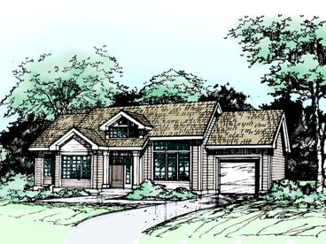 Small Home Plan, 022H-0087
