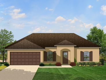 Ranch House Plan, 064H-0021