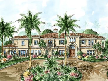 Premier Luxury Home Plan, 037H-0053