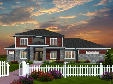 Luxury House Plan, 020H-0323