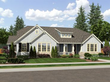 Craftsman House Plan, 046H-0109