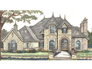 Two-Story House Plan, 002H-0082
