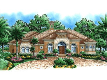 Premier Luxury Home Plan, 037H-0018