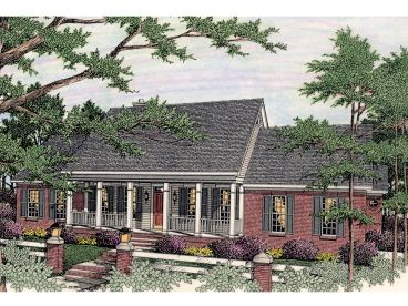 Ranch Home Design, 042H-0023