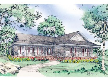 Country Home Plan, 009H-0032