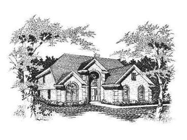 2-Story House Plan, 061H-0081