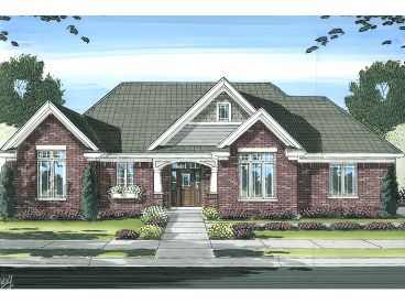 Ranch Home Plan, 046H-0029