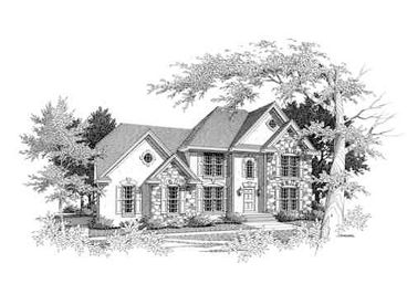European House Plan, 061H-0056