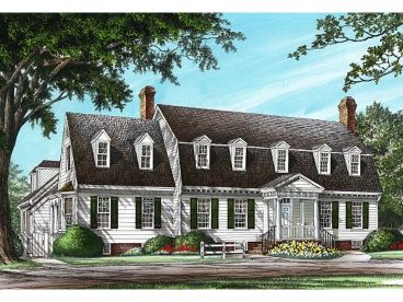 Cape Cod House Plan, 063H-0189