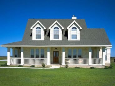Country House Plan, 036H-0014