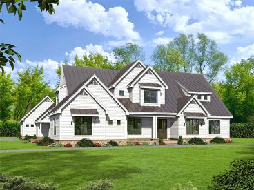 Premier Luxury House Plan, 062H-0261