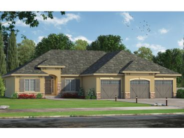 Sunbelt House Plan, 031H-0301