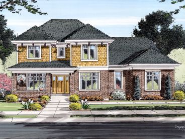 Two-Story Home Design, 046H-0104
