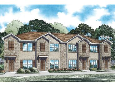 Apartment plans multi family home design 025m 0093 at for Multi unit apartment plans