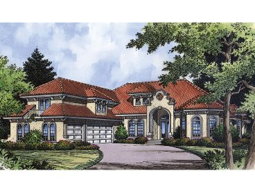 Two-Story Home Plan, 043H-0231