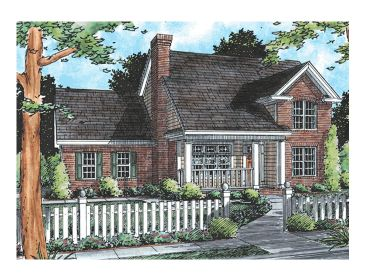 Affordable Home Plan, 059H-0052