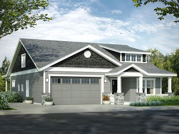 Craftsman House Plan, 051H-0252