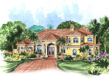 Luxury Home Plan, 040H-0027