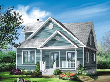 Small House Plan, 072H-0025
